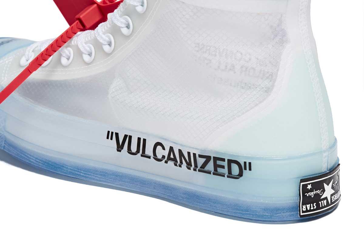 off white vulcanized converse